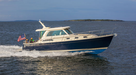 Sabre 38 Salon Express running