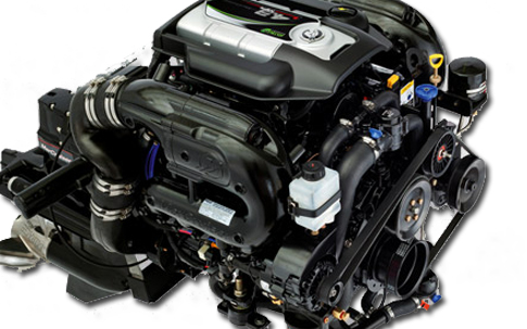 Stern Drive Engines: MerCruiser vs. Volvo-Penta