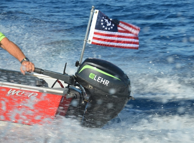 Lehr Debuts Propane-Powered 9.9-Horsepower Outboard Motor