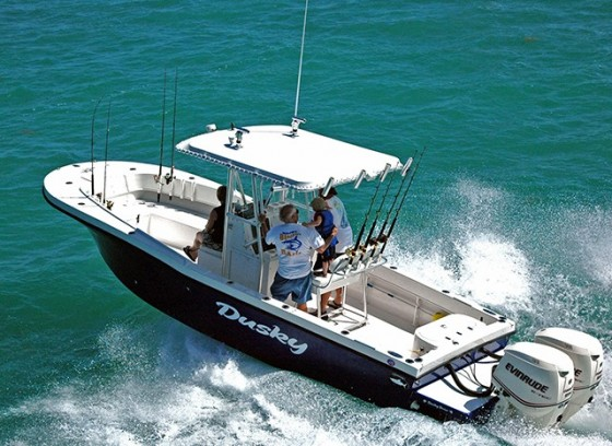 dusky 278 center console fishing boat