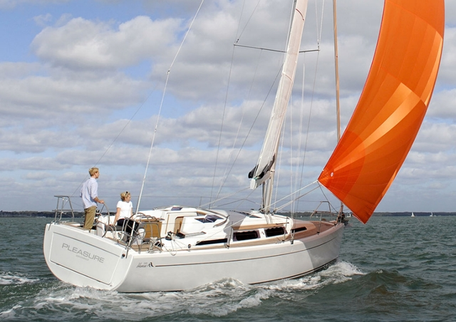 Hanse 345: Finding the Way