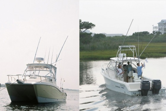 Power Cat Versus Monohull: Which is the Better Fishing Boat? - boats com