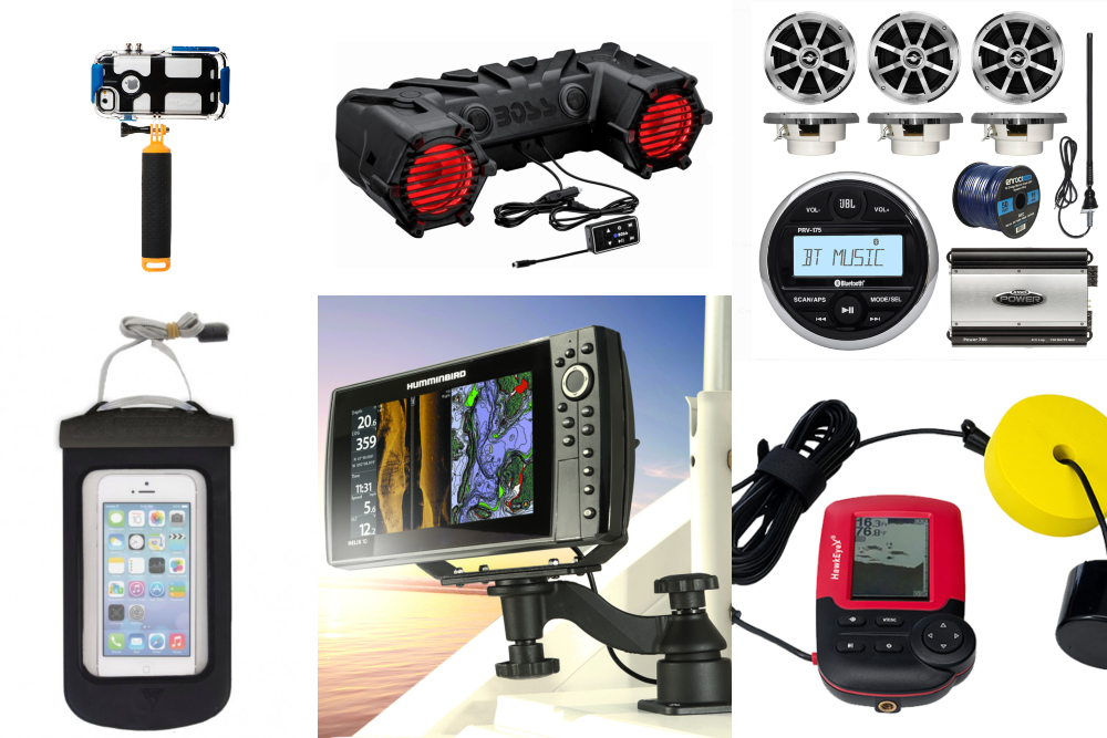 Top 10 New Stereo Systems, AV Accessories and Electronic Gadgets for Boats