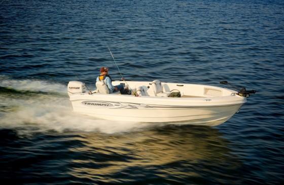 Best Fish And Ski Boats >> Triumph 186 Sportsman: Roplene Plastic Fantastic - boats.com