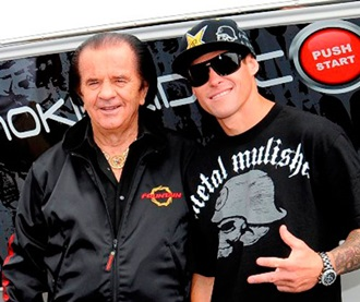 Fountain's fans have run from customers to celebrities, including freestyle motocross rider Brian Deegan.