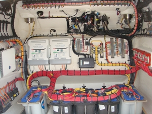 Concept 4400 console wiring