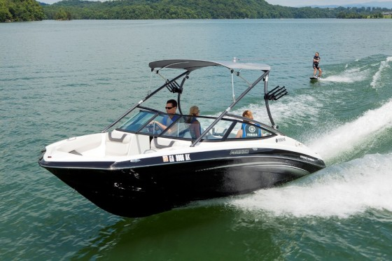 jet boats from yamaha