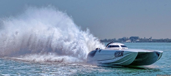 JBS Racing Mystic catamaran