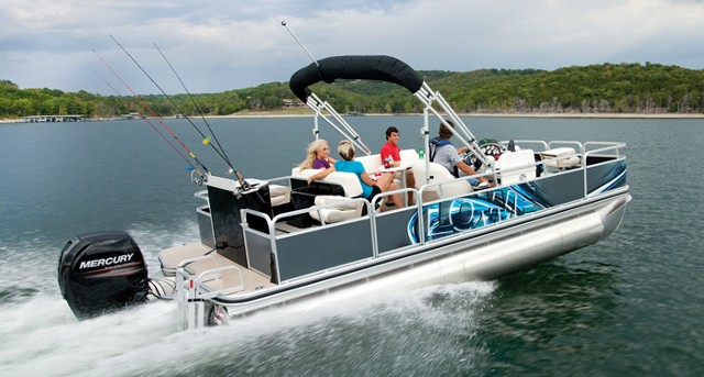 Fishing Pontoon Boats For Sale >> Can A Pontoon Boat Be A Serious Fishing Boat Boats Com