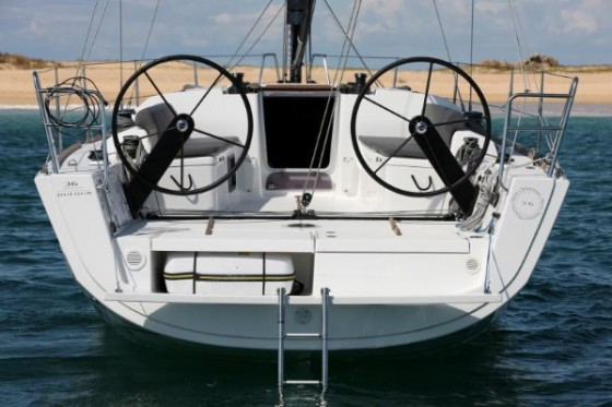 transom dufour 36