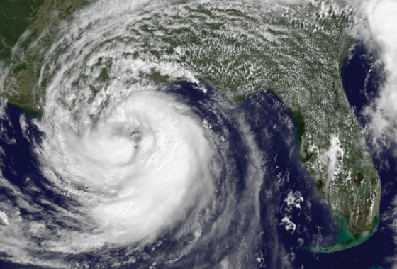 Hurricane Isaac approaches the Gulf Coast in 2012. There's litle time left to prepare at this point. Photo courtesy of the National Hurricane Center.