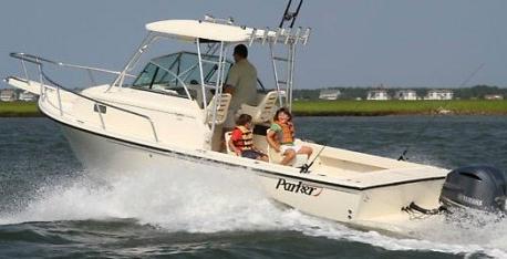 Parker 23 Walkaround: Fishing Boat Done KISS - boats com