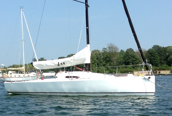 J/88 Boat Review: Going Sailing for Work
