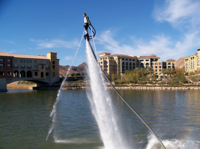 flyboard flying