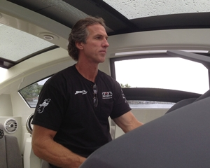 John Tomlinson, owner of TNT Custom Marine.