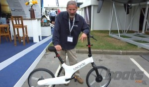 GoCycle folding bike