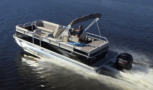 2014 Princecraft Vectra 23 Pontoon Boat Test Notes