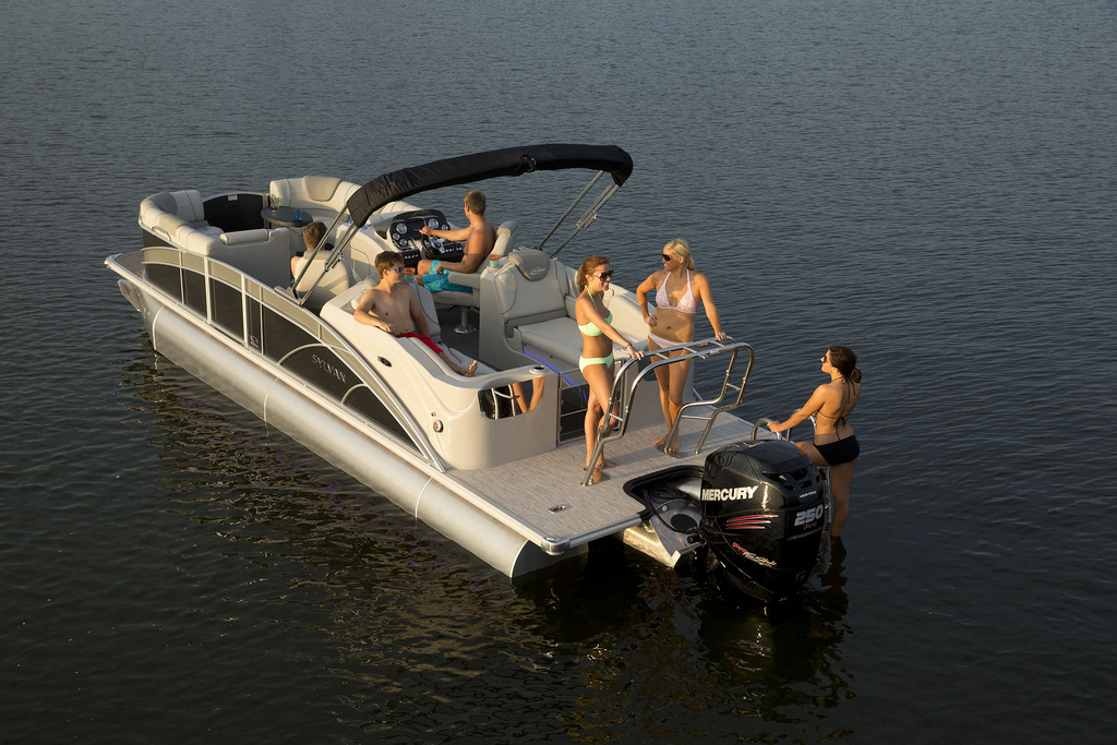 10 Top Pontoon Boats Of 2013 Boats Com