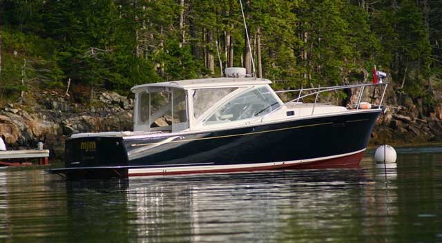 MJM 29z: A Fast, Fuel Efficient Cruiser With Downeast Flair