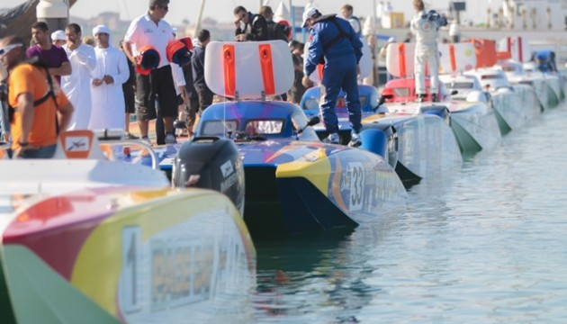 The 14-team XCAT fleet will take to the waters of Daytona Beach, Fla., in April. Photo by Raffaello Bastiani.