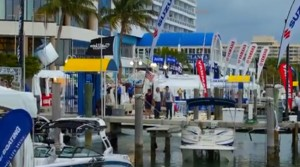 Miami International Boat Show trailer