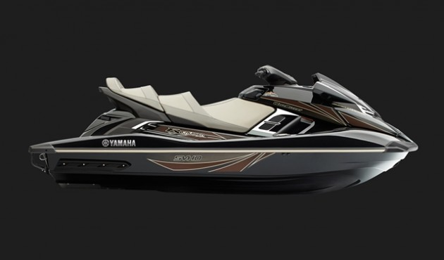 The FX Cruiser SVHO features a touring seat, pop-up cleats and other accessories.
