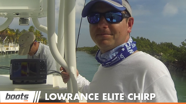 2014 Lowrance Elite 7 CHIRP: First Look Video