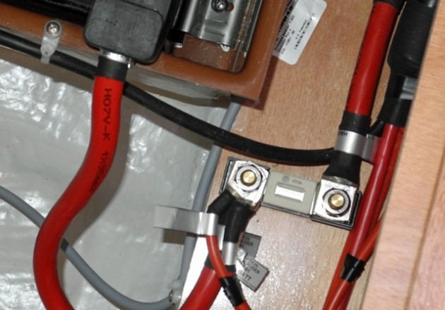 By ISO-9000 standards, all the battery lug and fuse connections should all be torqued to the same tightness. In everyday boating few people are that exacting, or need to be.