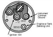 figure 2 variable resistor activated gauge