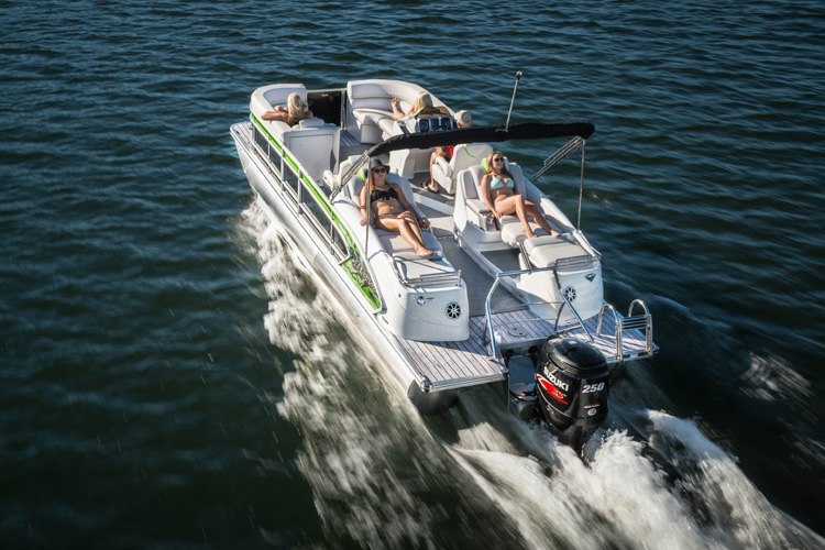 5 Rocket Fast Pontoon Boats Boats Com