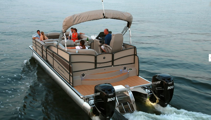 5 Rocket-Fast Pontoon Boats