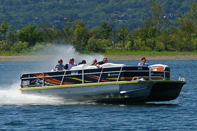 5 Rocket-Fast Pontoon Boats - boats com