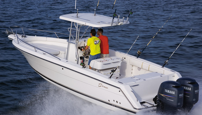 Stamas Tarpon 289: Bread and Butter Fish Boat