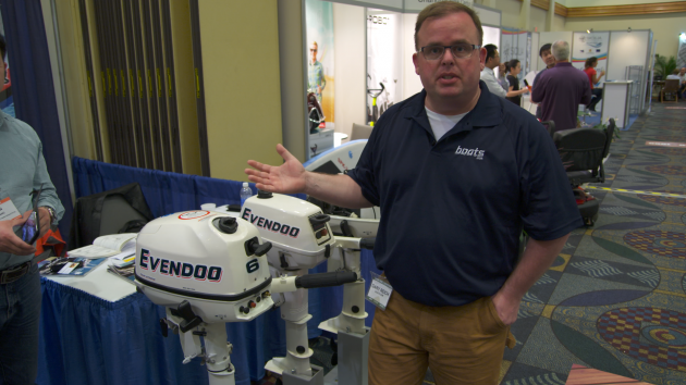The Evendoo outboard engines intrigued us so much we filmed a short First Look video about them.