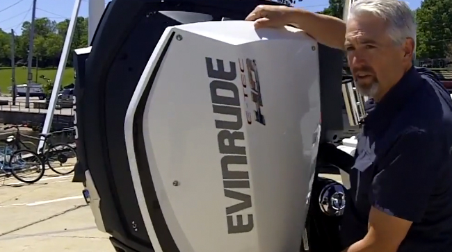 Evinrude E-Tec G2: First Look Video