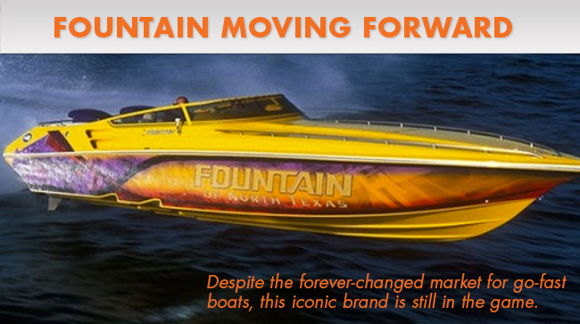 Fountain Powerboats Moving Forward