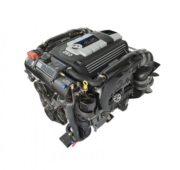 New MerCruiser 4 5L V6 Promises V8 Performance - boats com