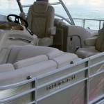 Bennington 2575 first look video pontoon boat tritoon