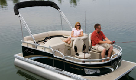 Avalon Eagle Affordable Mini Pontoon Boats Boats Com