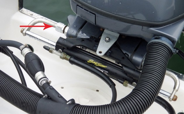 Outboard Steering Too Stiff Boats Com