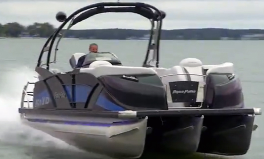Aqua Patio AP 250 XP HighPerformance Pontoon boats – Aqua Patio