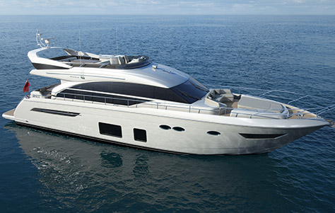 2015 Princess 68: First Look Video