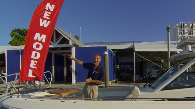 Boston Whaler 420 Outrage: First Look Video