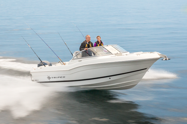 The Striper 200 DC provides fishing utility and comfort all in one.