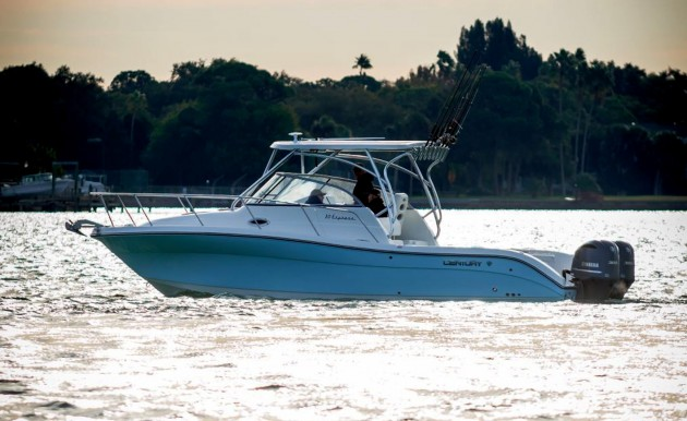 The Century 30 Express offer fishing flexibility and interior accommodations in one package.
