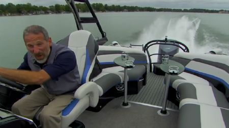 Aqua Patio 250 XP: Video Boat Review