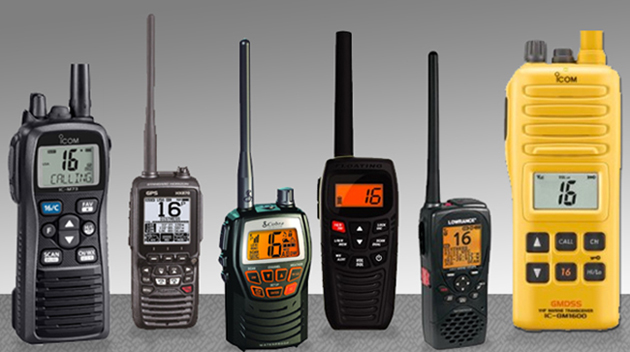 Five Favorite Handheld VHF Radios