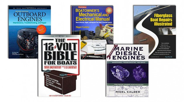 5 books for the do it yourself boat owner