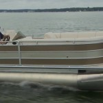 Cypress Cay Seabreeze 250 video boat review pontoon