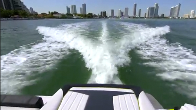 Volvo-Penta Forward Drive: On-Water Test Run